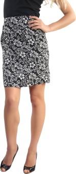 Belle Fille Floral Print Women's Straight Skirt
