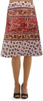 Pezzava Printed Women's Wrap Around Skirt - SKIEFGEVEQHSYTVE
