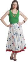 Bohemian You Floral Print Women's A-line Skirt