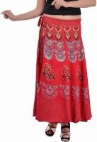 Indi Bargain Animal Print, Floral Print, Printed Women's Wrap Around Skirt - SKIEFKH57555CVMW