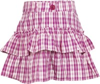 Cherokee Kids Checkered Girl's Layered Skirt