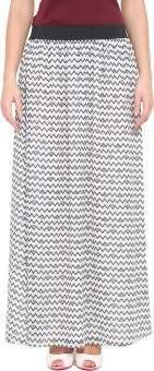 Phenomena Printed Women's Pleated Skirt