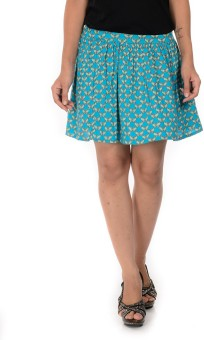 Goodwill Impex Printed Women's Mini Skirt