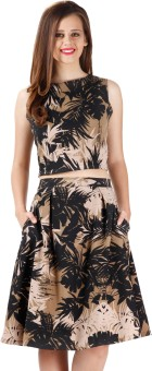 Miss Chase Printed Women's Pencil Skirt