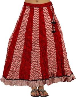 Shes Printed Women's Regular Skirt