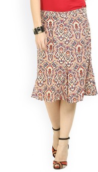 Max Floral Print Women's Skirt