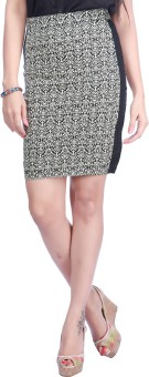 Eliza Donatein By Shoppers Stop Paisley Women's Pencil Skirt