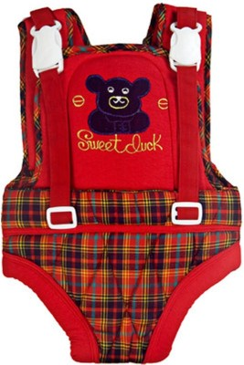 Baby Basics Infant Carrier - Design#35 Baby Cuddler (Red)