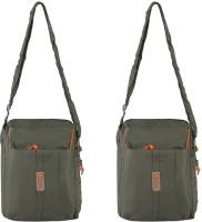 Heels & Handles Women Casual Green Nylon Sling Bag - SLBEAHDFDXUHY2PZ
