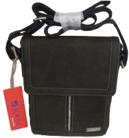 Kan Men, Women Black Genuine Leather Sling Bag