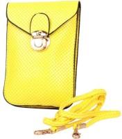 Trendberry Women Yellow PU Sling Bag