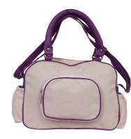Speed Dot Women White Leatherette Sling Bag