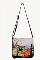 Carry On Bags Retro Buildings Medium Sling Bag - SLBDWKJH6ZZWC3MN