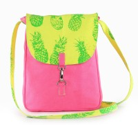 Vogue Tree Women Casual Pink Canvas Sling Bag