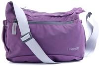 Bendly Smart Foldable Cross Body Medium Sling Bag - Purple-01