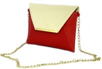 Shore Women Casual Red PU Sling Bag