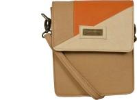 Statement Women Casual Beige Leatherette Sling Bag - SLBE6FP8QUBVH6BR