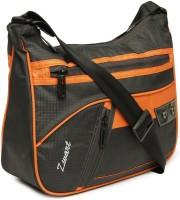 Zwart 314104GO Medium Sling Bag - Grey, Orange