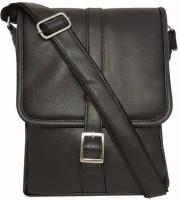 Chimera Leather Men, Women Casual, Formal Black Leatherette Sling Bag