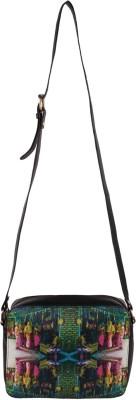 Artychoke Chai Wala Medium Sling Bag - Black