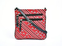Pick Pocket Women Casual Red Cotton, Canvas Sling Bag