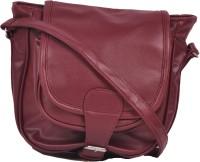 Naaz Bag Collection Women Maroon PU Sling Bag