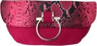 Super Drool Women Casual Pink PU Sling Bag