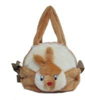ARIP Girls, Women Brown Velvet Sling Bag