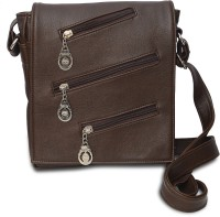 Arshia Stylish Small Sling Bag - Brown