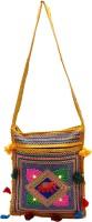 Rastogi Handicrafts Women Casual Blue Cotton Sling Bag