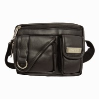 Chimera Leather LMB160541410 Sling Bag - Black