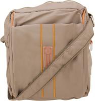 Aliza Women Beige Leatherette Sling Bag