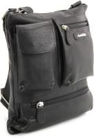 Leather Talks Sling Bag - Black