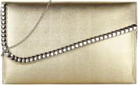 Omnesta Women Evening/Party Silver PU Sling Bag