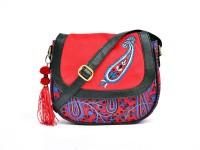 Pick Pocket Kairi Printed Small Sling Bag (Blue)