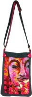 Carry On Bags Pink Lotus Bhudha Medium Sling Bag - Grey