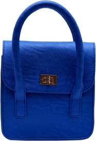 CLOCHARDE Girls Blue PU Sling Bag