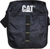 CAT Men, Women Black, Grey Polyester Sling Bag