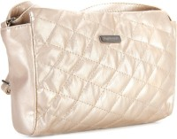 Peperone Women Beige Artificial Leather Sling Bag