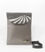 DHC Trendy Small Sling Bag (Grey, Black)