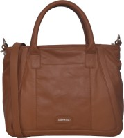 Justanned Women Casual Tan Genuine Leather Sling Bag