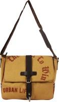 The Jute Shop Women Formal Yellow Cotton Sling Bag