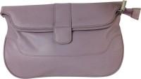 Bigee Girls Purple Genuine Leather Sling Bag