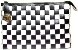 Cathriem DI227C Medium Sling Bag - Black, White 01