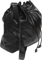 Y.Beth Women Casual Black Leatherette Sling Bag