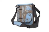 Istorm Buzz Stylish Printed Medium Sling Bag (Light Blue -12)