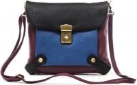 Sophia Visconti Girls Purple Genuine Leather Sling Bag