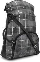 Baggit Women Casual Grey, Black Sling Bag