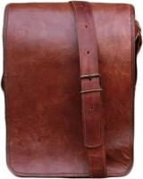 NK Vintage Leather Men, Women, Boys, Girls Brown Genuine Leather Sling Bag