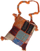 Little India Stylish Barmeri Embroidery Ladies Sling Bag 104 Large Sling Bag - Multicolor-101